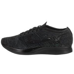Nike Flyknit Racer Triple Black Anthracite shoes